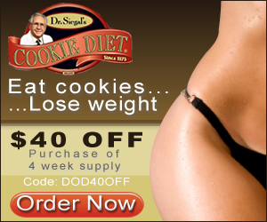 Dr. Siegal's COOKIE DIET Online Store Coupon