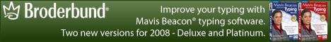 Improve your typing with Mavis Beacon