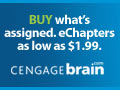 Up to 50% off eTextbooks, First eChapter FREE