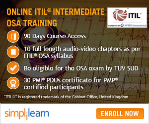 ITIL Intermediate OSA Training Online Course