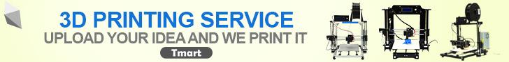 3D Printing Service - Print Your Idea @Tmart.com