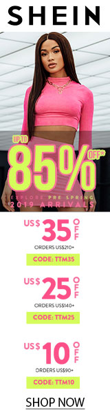 Explore Pre-Spring Arrivals - Save $35 off $210 at www.SHEIN.com - code TTM35 Expires - 02/25