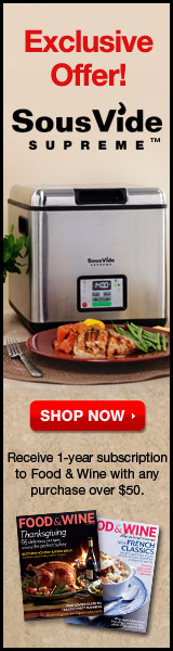 SousVide Supreme Exclusive Offer! 1 year subscript