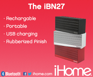 300x250Static iBN27 NFC Bluetooth Rechargeable Stereo Mini Speaker