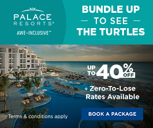 Flights + Free Night. Up to 35% off all-inclusive luxury at Palace Resorts. Safe Travels.