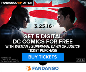 Batman v Superman: Dawn of Justice GWP