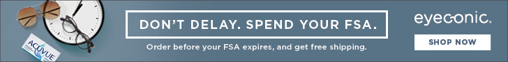 Don't Delay. Spend Your FSA. Order before your FSA expires, and get free shipping.