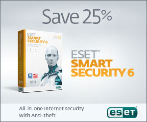 ESET Smart Security v5 - Save 25% Today