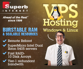 VPS with Superb Internet when you signup for a Year! Use code