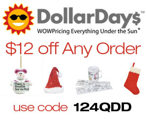 Take $12 off your order at DollarDays.com with Cou