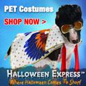 Pet Costumes at Halloween Express