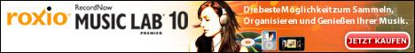 Roxio RecordNow™ 10 Music Lab Premier