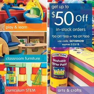 Discount School Supply Promo Code Get Up To $50 OFF Plus Free Shipping On Orders Over $299