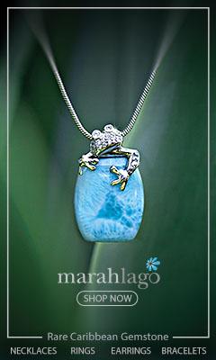 Marahlago Larimar Wildlife Jewelry