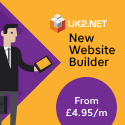 UK2.Net Announces New Website Builder