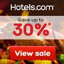 Hotels.com Thanksgiving Sale