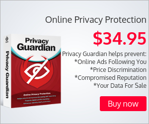 Block access to your sensitive online data, device info and browsing habits with Privacy Guardian™