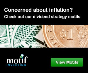 Concerned about inflation? Check out our dividend strategy motifs.