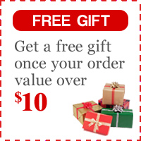 Free Gift for Order Over $10