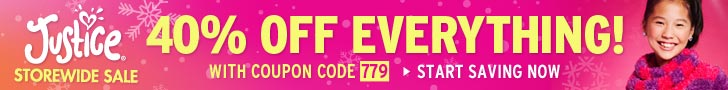 40% off Your Entire Order with Coupon Code 779