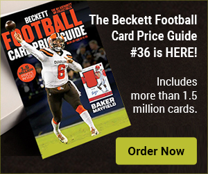 Beckett Football Card Price Guide #36