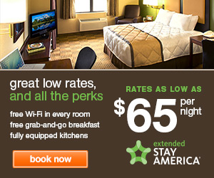 Extended Stay America Promo Code - Rates as low as $65 per night