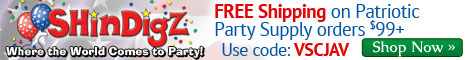 FREE Shipping on Patriotic Party Orders $85+.