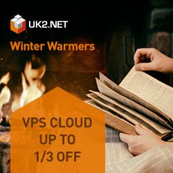 Get 1/3 off Cloud VPS