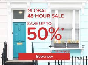 hotels.com Global 48 Hour Sale