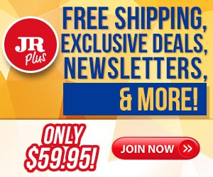 JR Plus Free Shipping Deals 2018