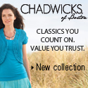 CHADWICKS summer collection!