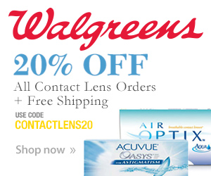 20% Off All Contact Lens Orders + Free Shipping w/ code CONTACTLENS20