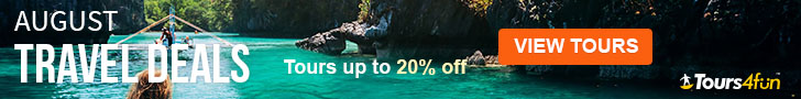 The August Travel Guide is here! Maximize your Summer Adventures with up to 25% off trips at Tours4F