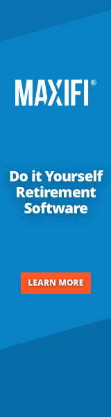 MaxiFi - Do it Yourself Retirement Software. Learn More!