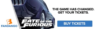 Fandango - Fate of the Furious Ticketing Banners