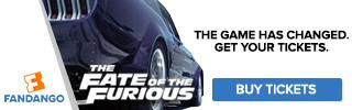 Fandango - Fate of the Furious Ticketing Banners
