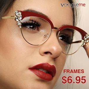 Stylish Eyeglasses down to $6.95!