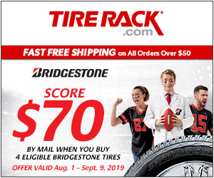 Tire Rack Pirelli Tires Deals & Rebates 2018 - Get a $70 Prepaid Mastercard Card