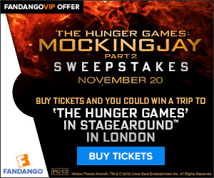 Fandango Hunger Games Mocking Jay 2 Premier Sweepstakes
