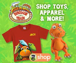 PBS KIDS Dinosaur Train Shop