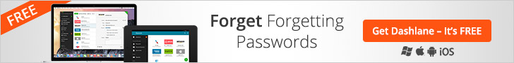 Stop forgetting passwords with Dashlane