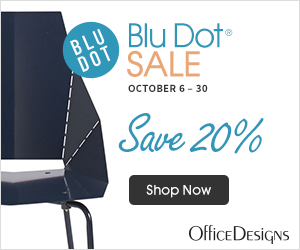 Save 20% on Blu Dot