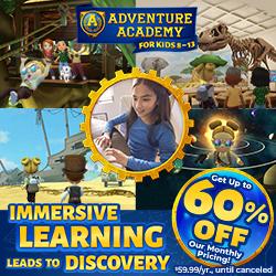AdventureAcademy.com - Get 1 Year for $59.99!