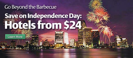 4th of July Hotel Specials