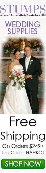 Save $10 on Wedding Decoration orders $199+