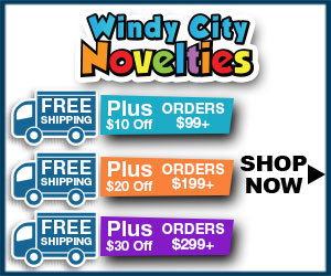 Windy City Novelties Coupon Code - 120% Lowest Price Gurantee