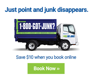 Just point and junk disappears. Save $10 when you book online. Book Now.