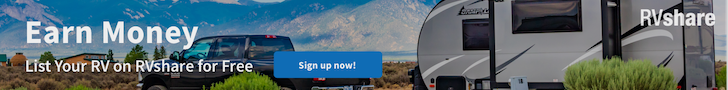 List Your RV for Free on RVshare