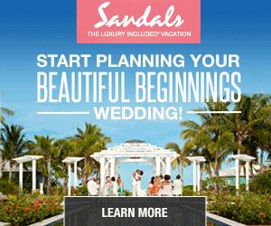Destination Weddings at Sandals Resorts