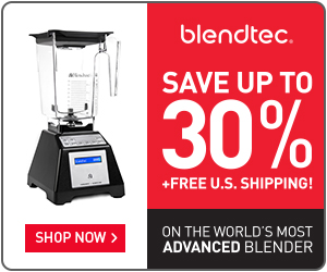 Save big on Blendtec Factory Recertified Blenders + Free Shipping